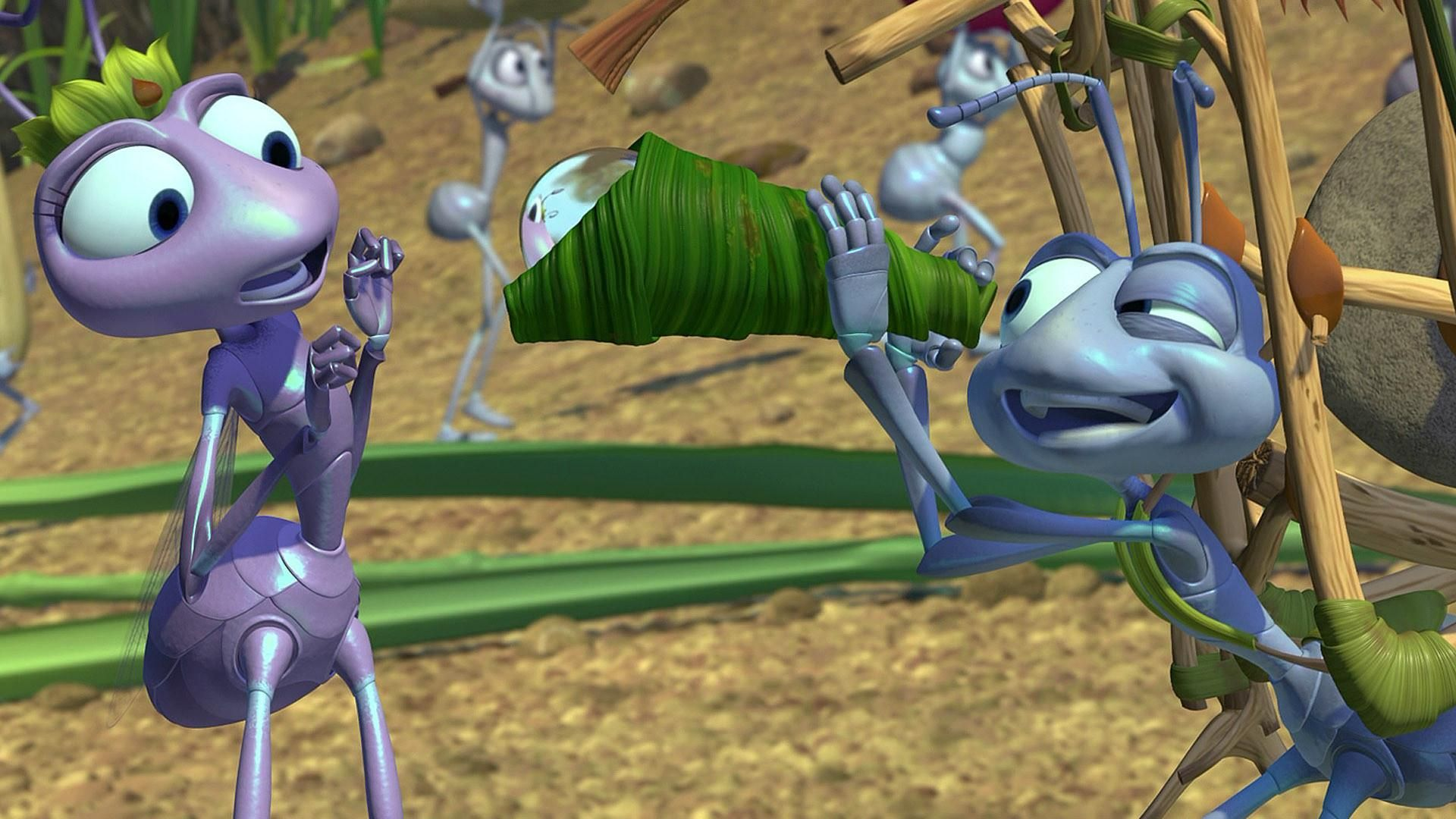 Flik For The Colony And For Oppressed Ants Everywhere Pixar