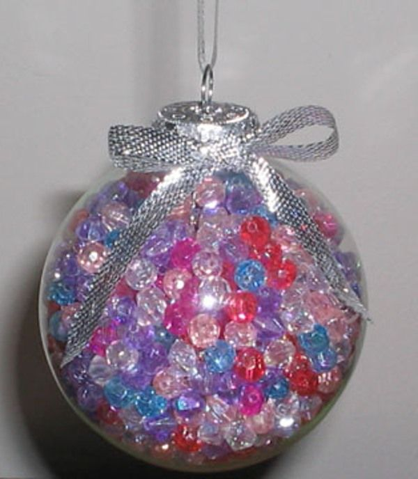 Clear Christmas Ornaments Craft Ideas Part - 23: Ornaments Ideas - Google Search