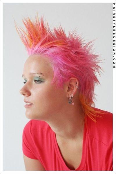 Spiky Orange Hair - The Best Drop Fade Hairstyles