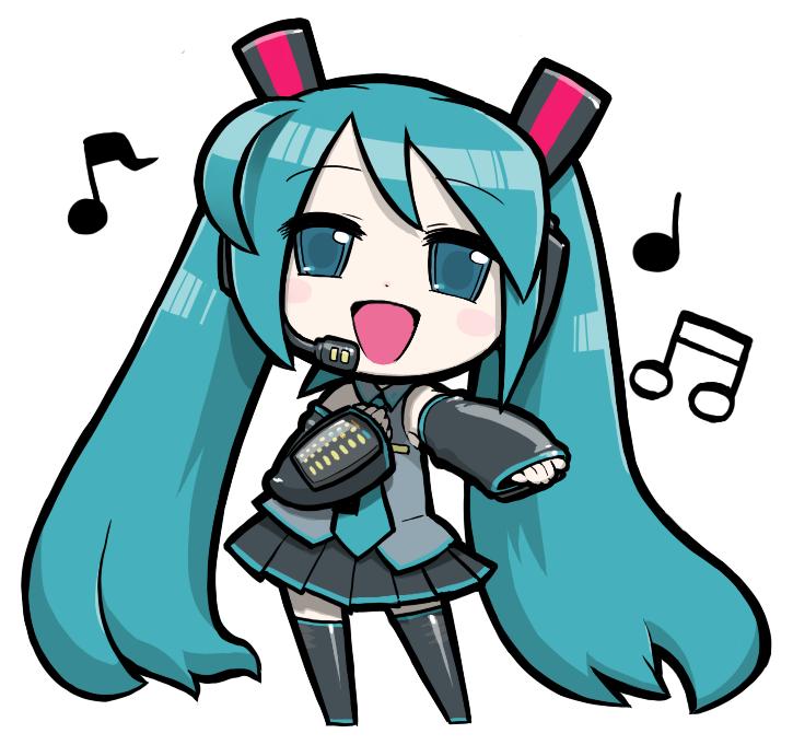 Vocaloid Anime Hatsune Miku Vocaloid Hatsune