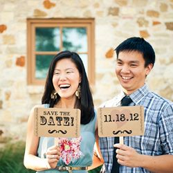 A super cute save-the-date e-shoot full of laughter, pokes and jokes! {images by Day 7 Photography}