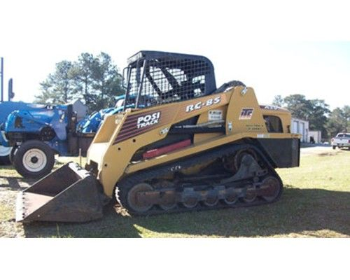 2006 ASV POSI-TRACK RC85 skid steer loader from McMillan