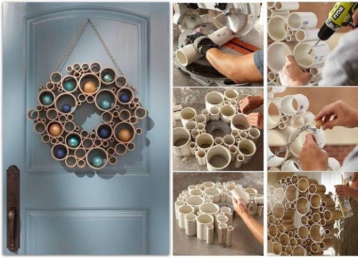 16 id es g niales pour recycler des tubes de pvc en objets du quotidien divers pinterest. Black Bedroom Furniture Sets. Home Design Ideas