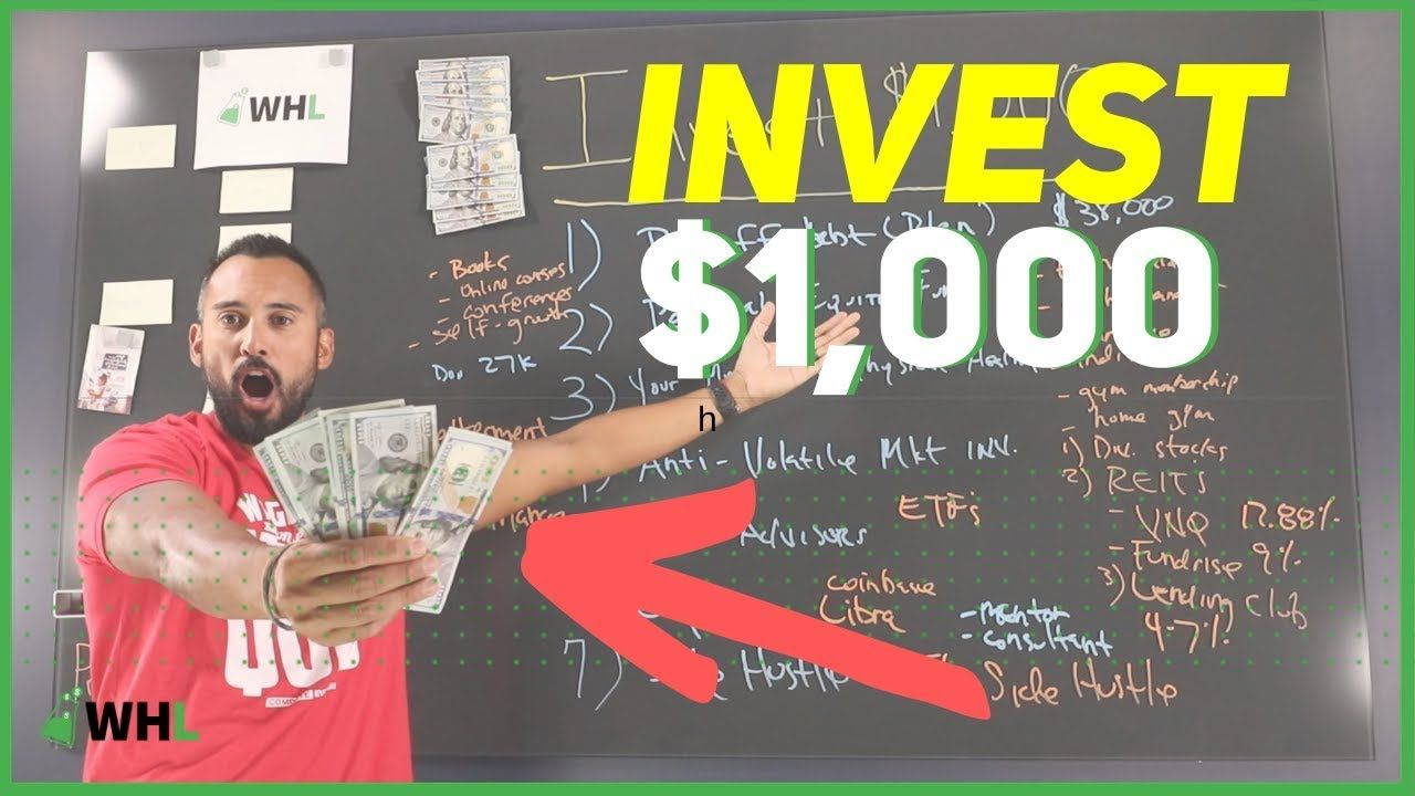 How to invest 1000 dollars right now best investment