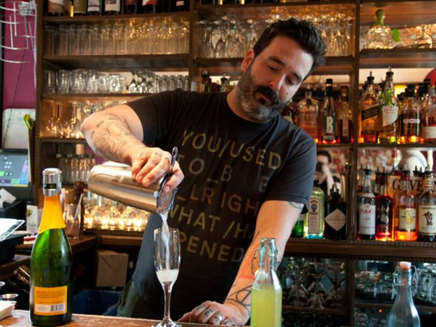 8 Summer Cocktails from The Spotted Pig in NYC Cocktail recipes - bar manager