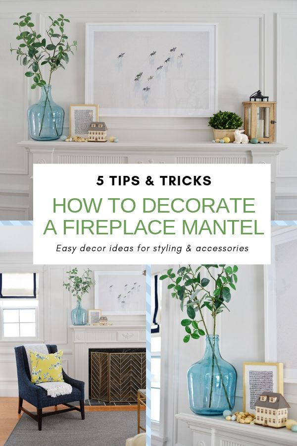 Fireplace Mantel Decor Ideas for Spring in 2019 | Home ...