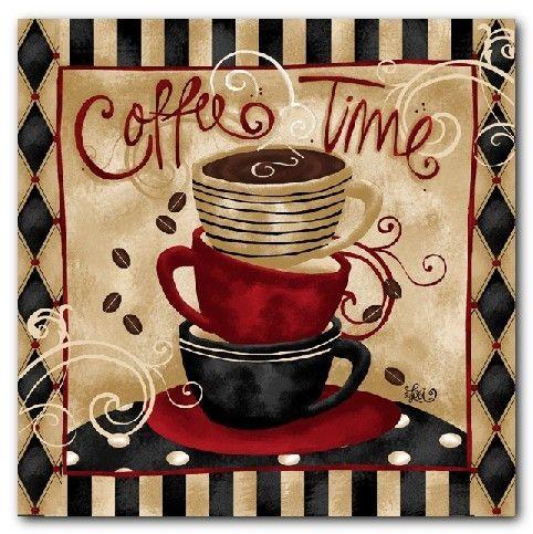 Coffee Cup Shop Cafe Art Prints Kitchen Wall Decor Kitchen Decor Themes Coffee Coffee Theme Coffee Theme Kitchen