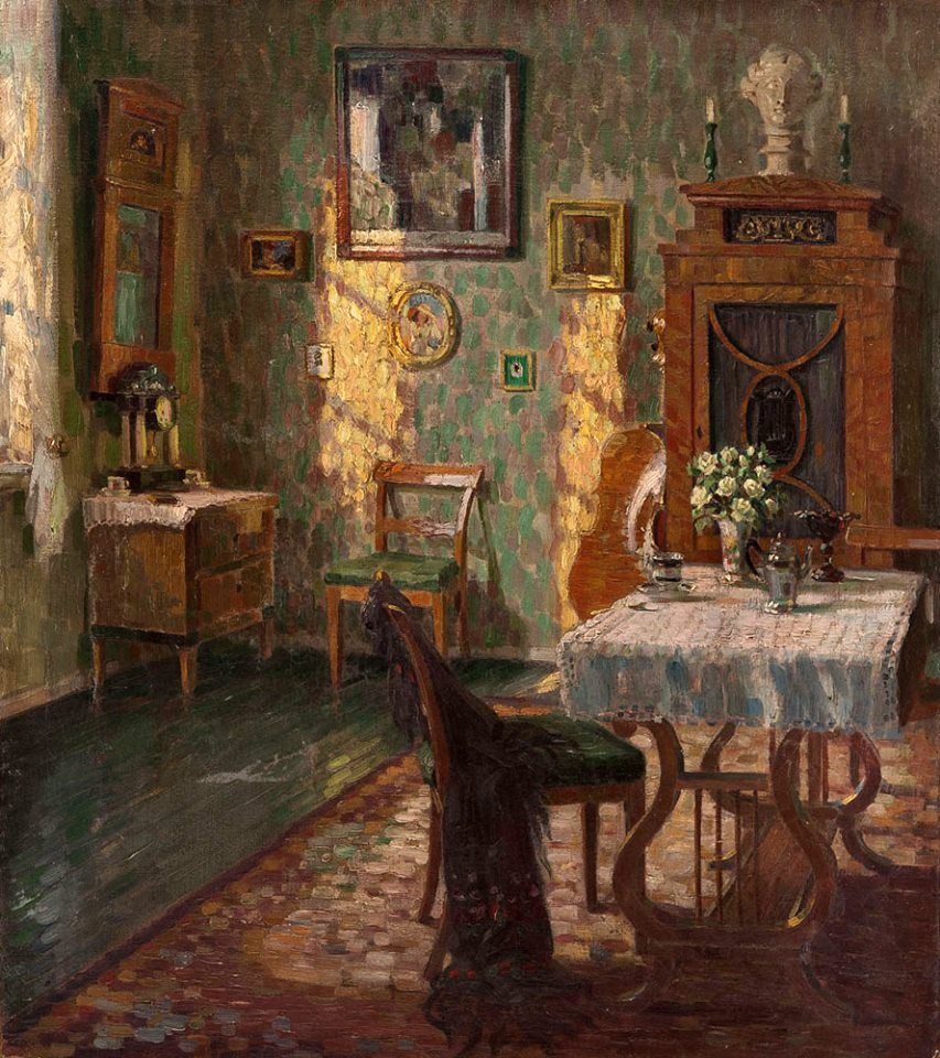 August Von Brandis 1862 1947 Artful Interiors