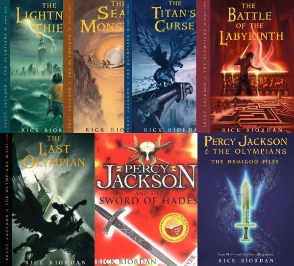 Percy Jackson And The Olympians Complete Series Pdf Great Novels