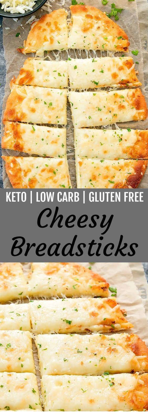 KETO BREADSTICKS