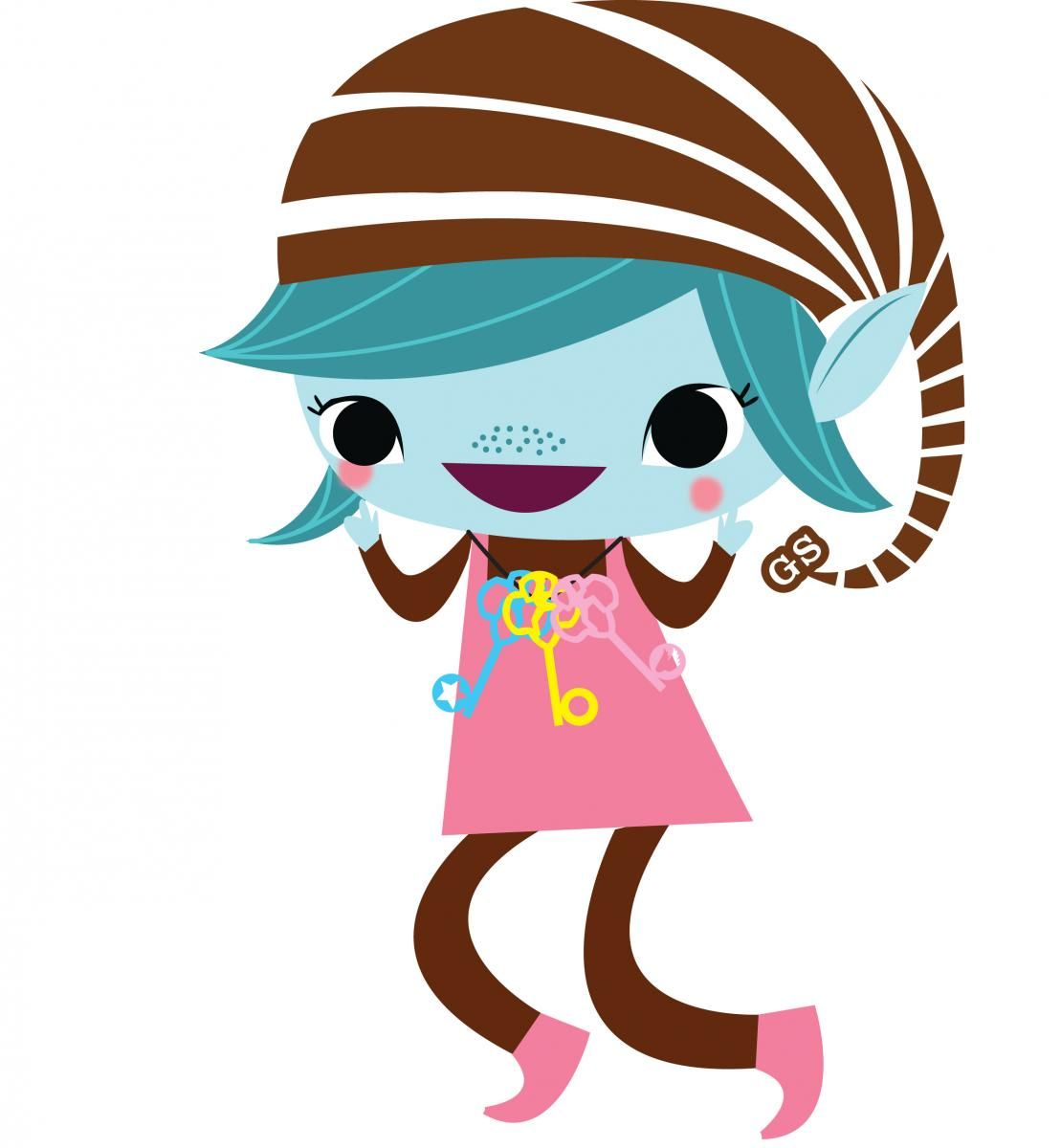girl scout brownie happy elf use her as flat stanley send to rh pinterest co uk