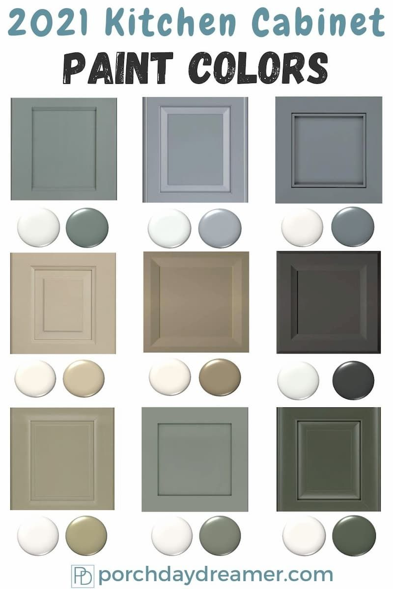 2021 Kitchen Cabinet Paint Color Trends Painted Kitchen Cabinets Colors Cabinet Paint Colors Kitchen Cabinet Colors