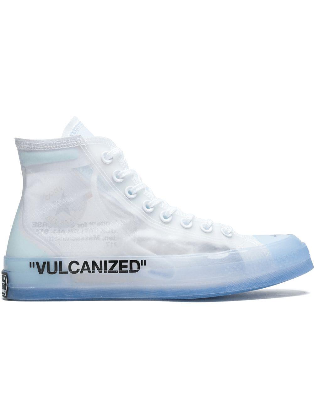 Converse Converse x Off White Chuck 70 hi top sneakers