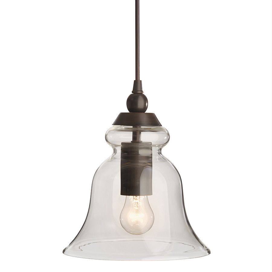 Allen + Roth Pendant Light With Clear Glass Shade At Lowes.com Is Just $40