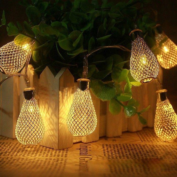 coole weihnachtsbeleuchtung weihnachtsdeko ideen lichterketten - weihnachtsdeko ideen