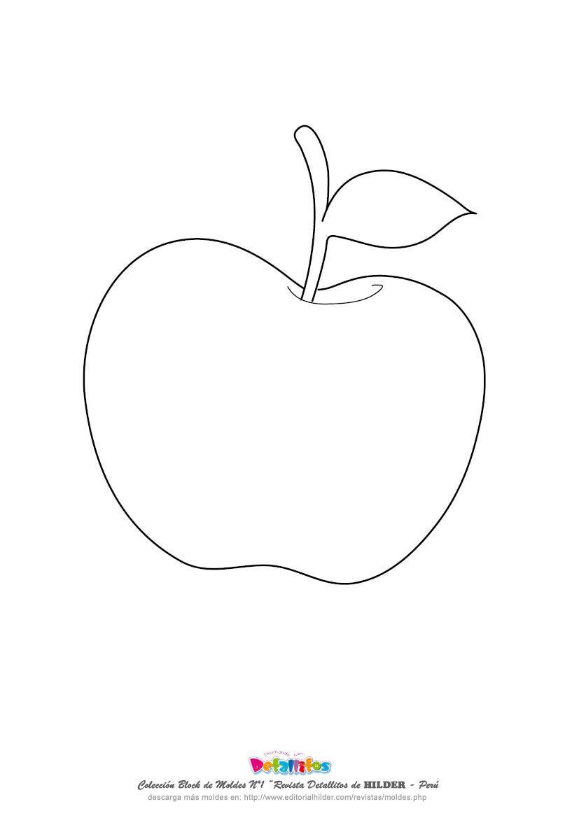 Desenho De Maca Para Colorir Pesquisa Google Com Imagens