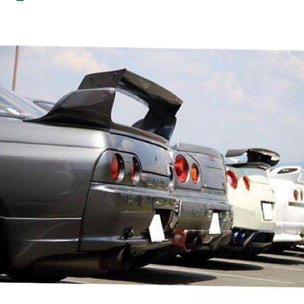 I Wonder If That R32 With The R33 Gtr Spoiler
