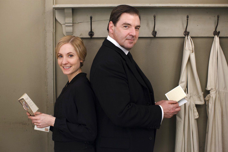 Downton Abbey Staffel 4 4 Dvds Amazon De Maggie Smith Hugh