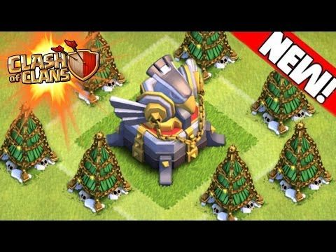 All Coc Christmas Trees.Clash Of Clans New Removing 2015 Christmas Tree Coc