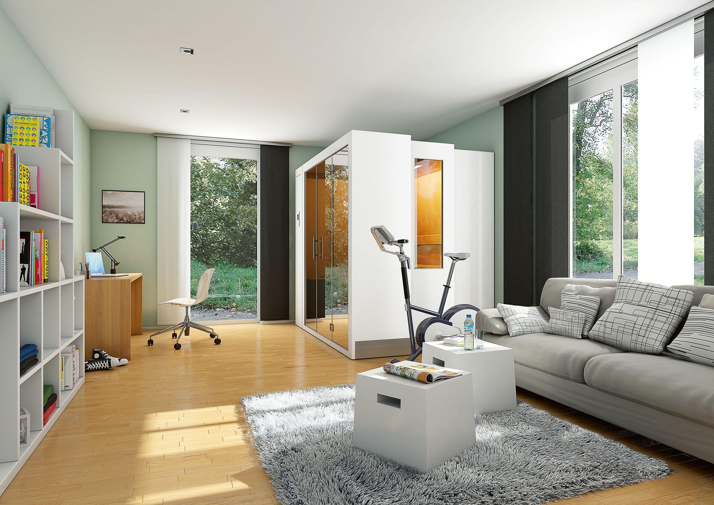 S1 von KLAFS – die erste ausziehbare Sauna für jedes Zuhause | Sauna ...