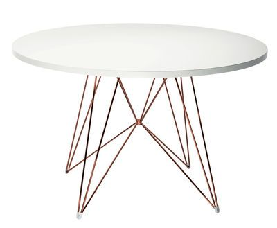 Table Ronde Xz3 Magis Blanc Made In Design Table A Manger