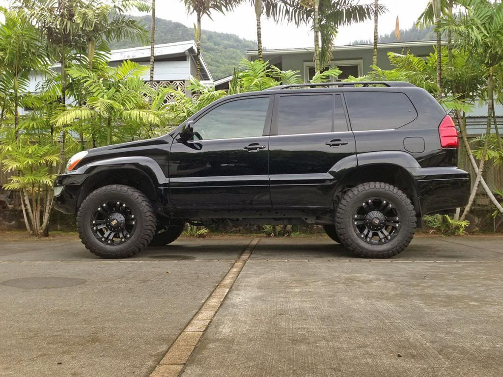 A little 4wheeling in a lifted GX - Club Lexus Forums
