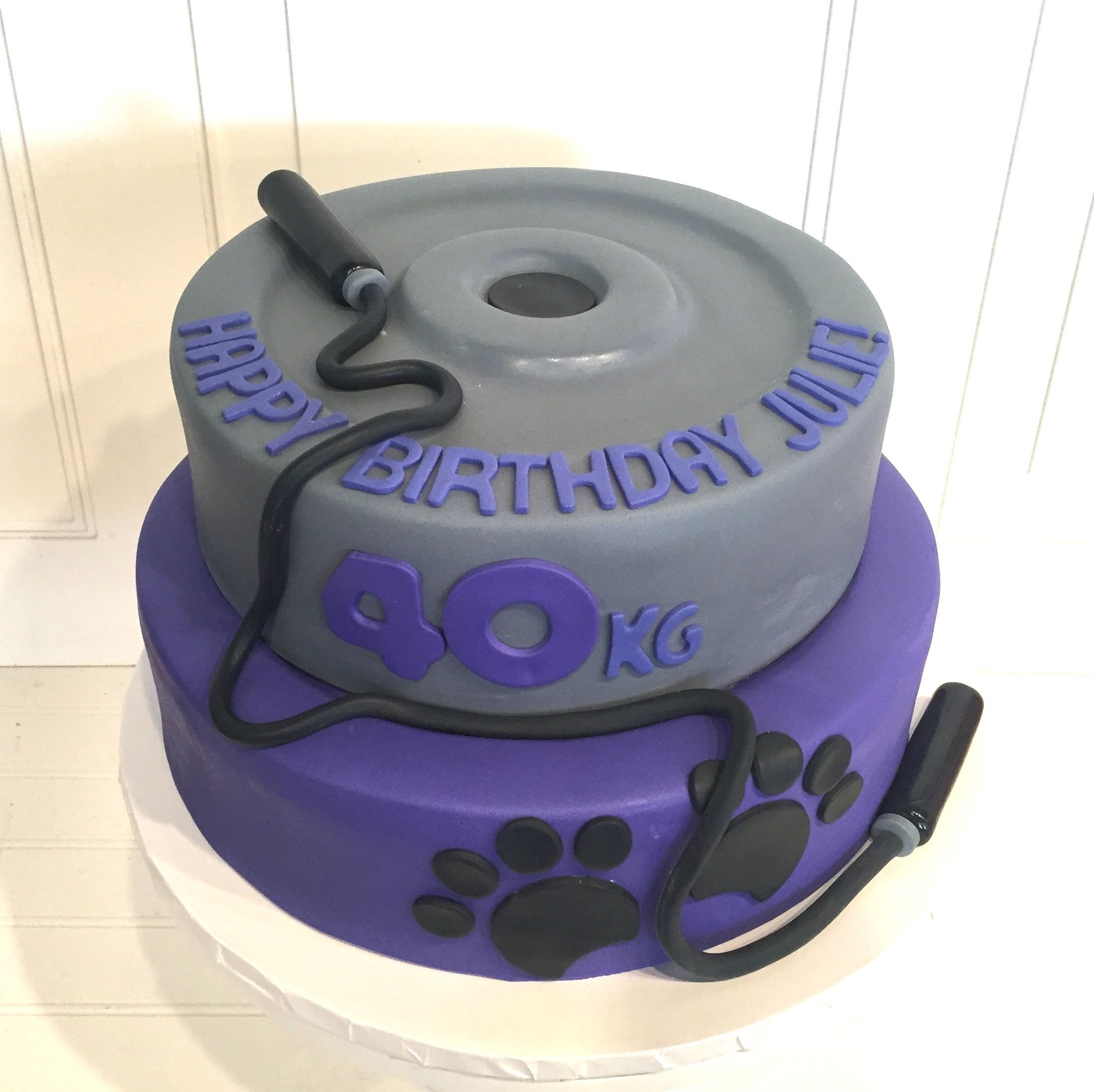 Pleasing Weight Training Cake With Images Cake Girl Cakes Specialty Cakes Personalised Birthday Cards Paralily Jamesorg