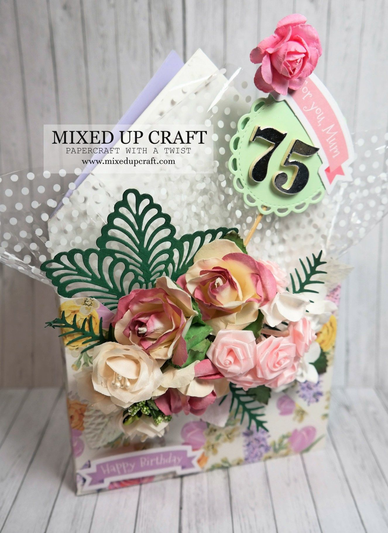 Beautiful Envelope Box Bouquet Card in 2020 Envelope box