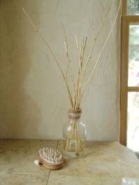 Use old bottle, essential oils and twigs/sticks you find outside!! No need to buy scent diffuser for $20...reduce, reuse, recycle!