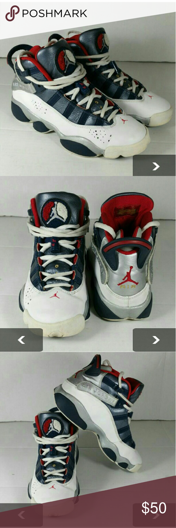 046de8492ce7 ... new zealand air jordan 6 rings women youth shoes very clean inside out  this is a