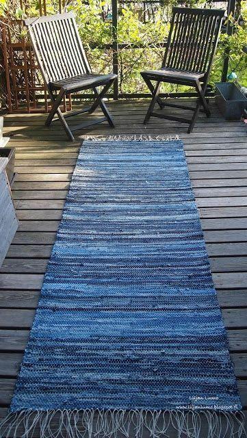 Photo of Wie erstelle ich einen blauen Jean Teppich, 11 einzigartige