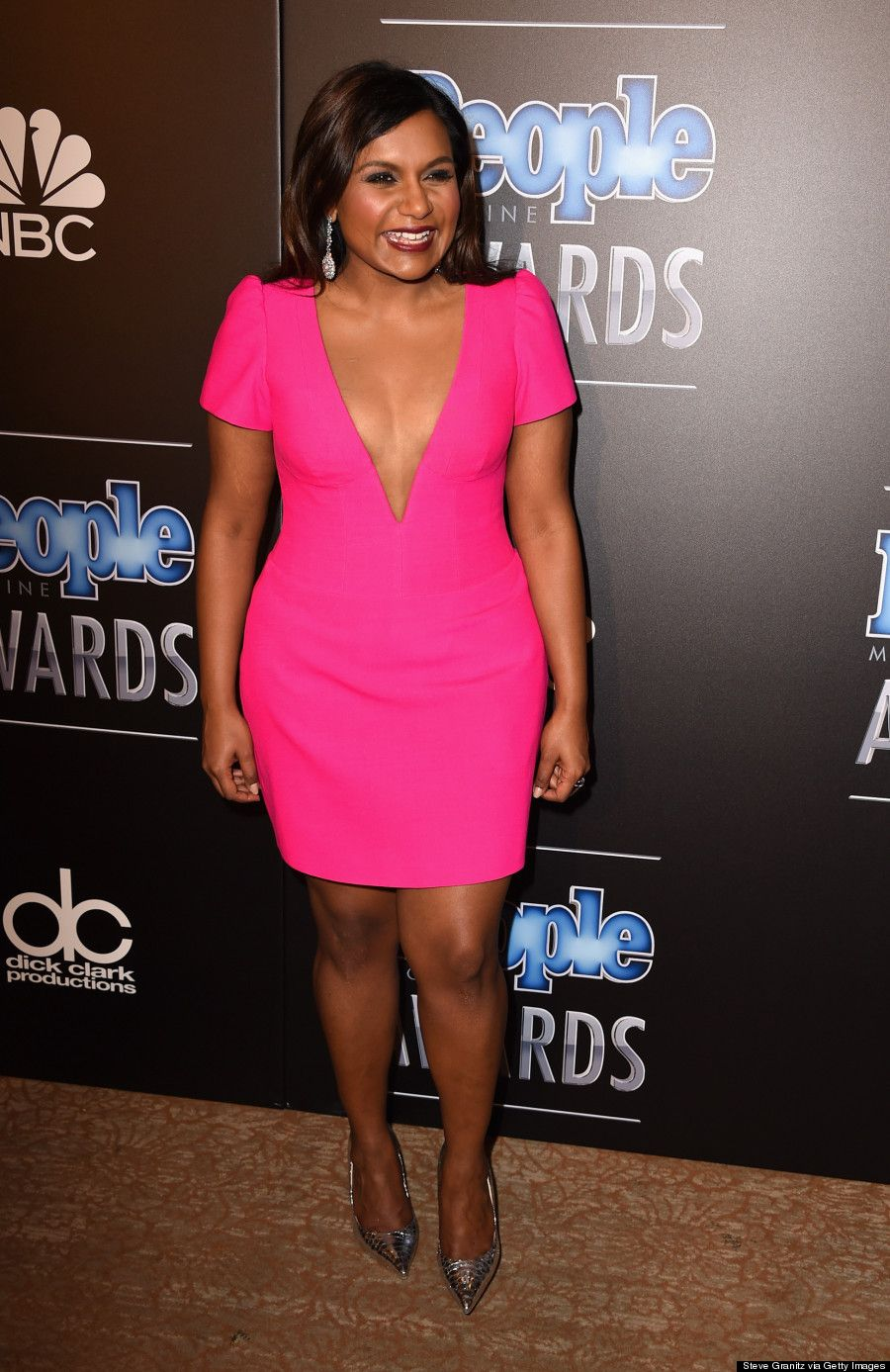 Mindy Kaling Wears Salvador Perez The People Magazine Awards