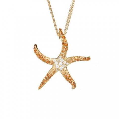 Starfish Necklace by Sydney Evan
