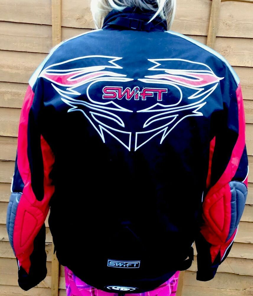 Swift Textile Motorcycle Jacket Size XXL Armoured Red