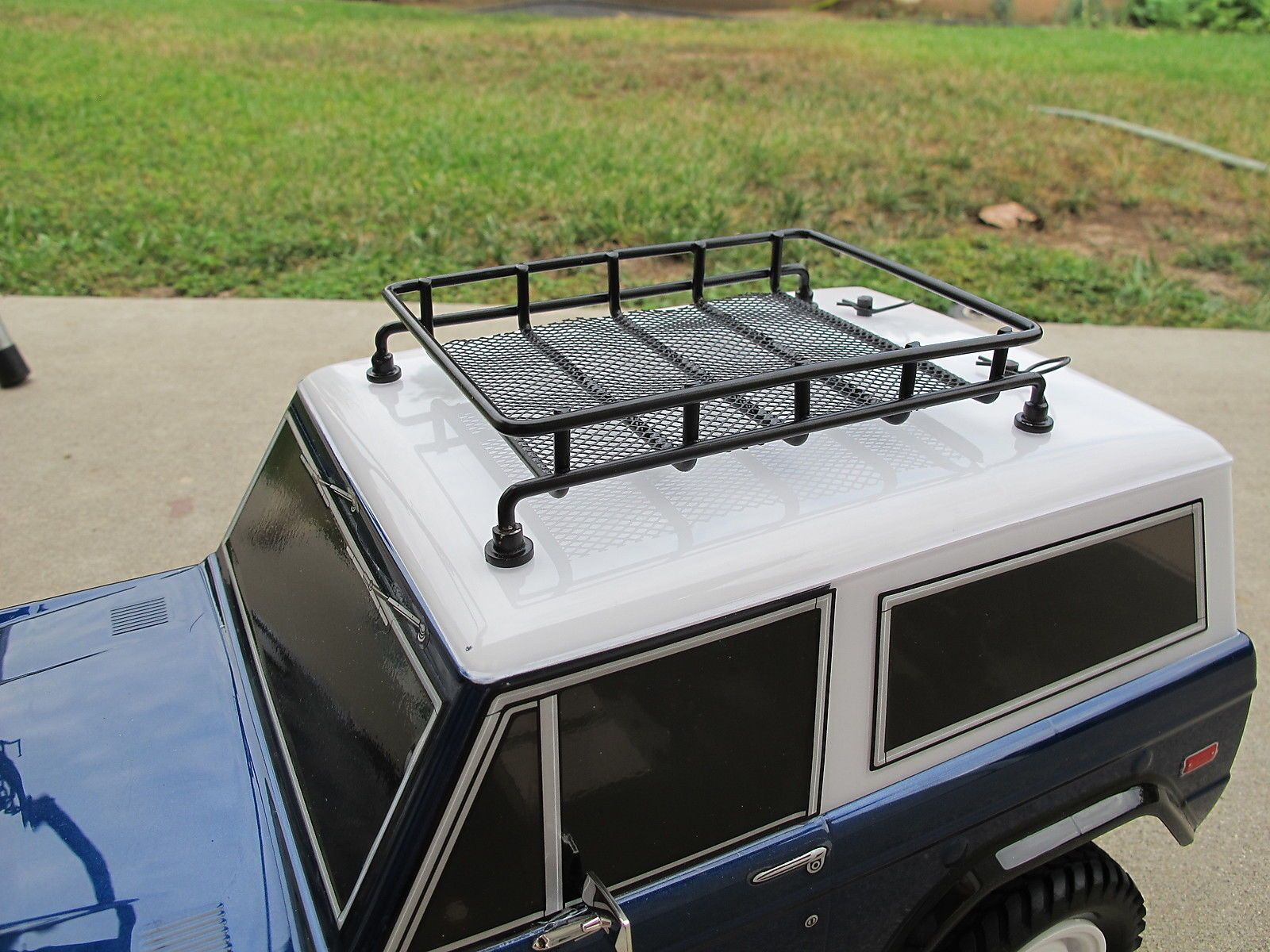 Metal Roof Rack 1 10 Rc Tamiya Cc01 Axial Scx10 Jeep Wrangler Yj Off Road Cr 01 Roof Rack Jeep Wrangler Yj Metal Roof