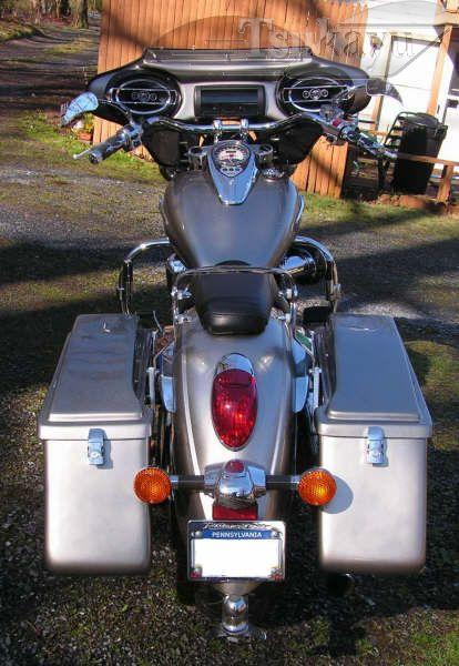 Tsukayu Fairing Hard Saddlebags And Touring Trunk Motorcycle