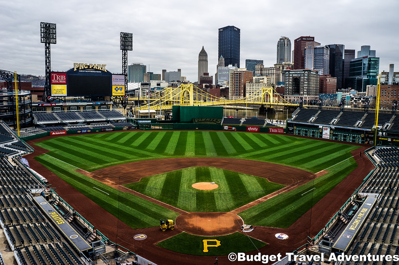 PNC Park Home Of The Pittsburgh Pirates With Pennsylvania Skyline In View