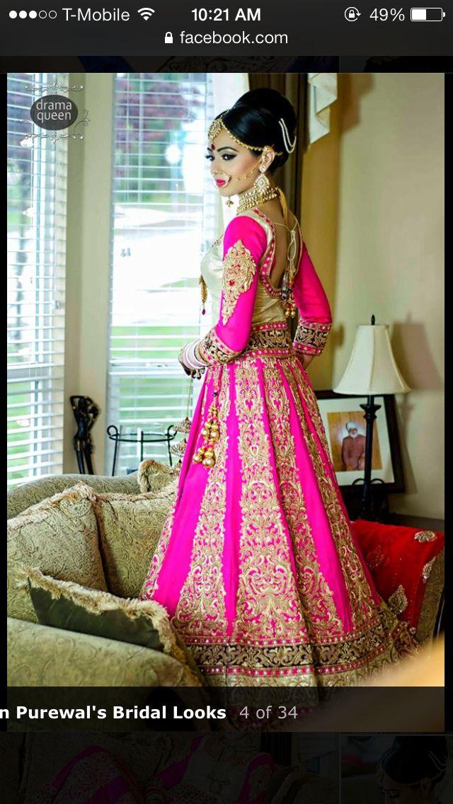 Punjabi Bride | The indian in me | Pinterest