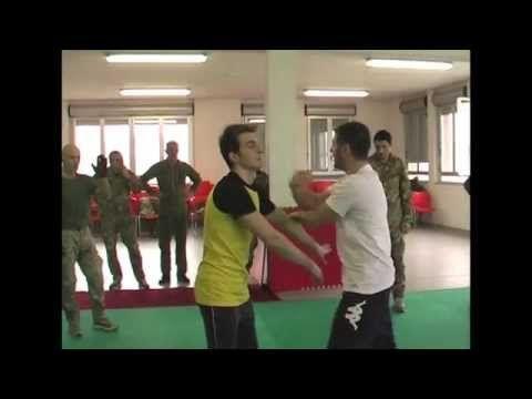 Perani Difesa Personale Esercito - FIJLKAM - YouTube