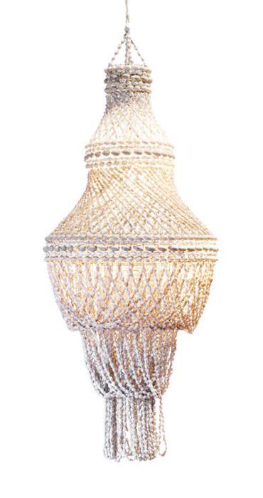 french riviera 20th century seashell chandelier