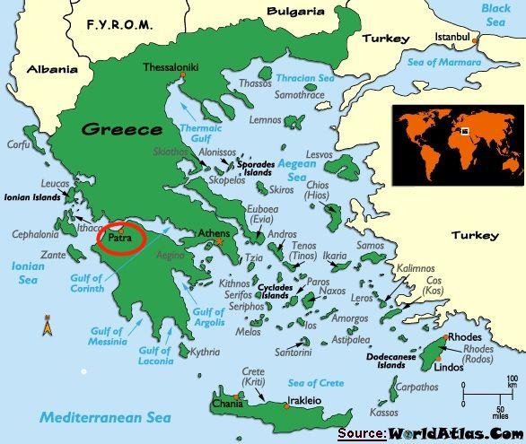 Greece Hellenic Republic Greece Pinterest Patras - Where is athens