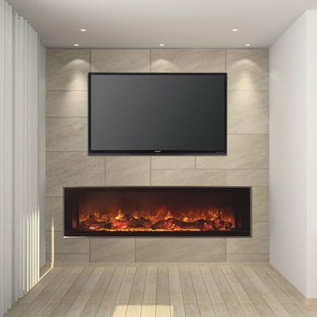Modern Flames 80 Quot Landscape Series Linear Electric