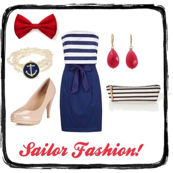 Fancy sailor fashion