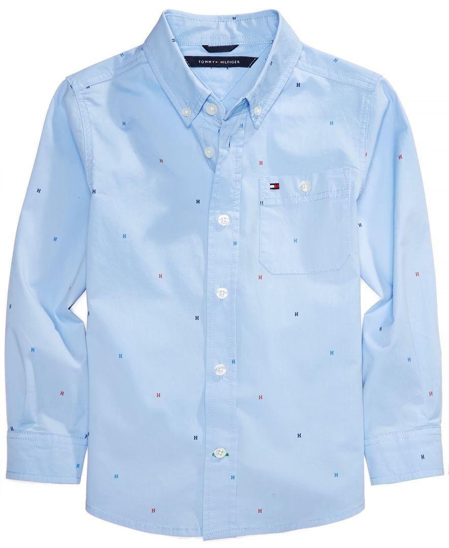 Tommy Hilfiger Printed Shirt, Big Boys | Products | Tommy