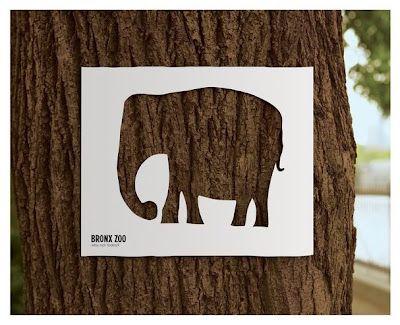 Black*Eiffel: Bronx Zoo Ads