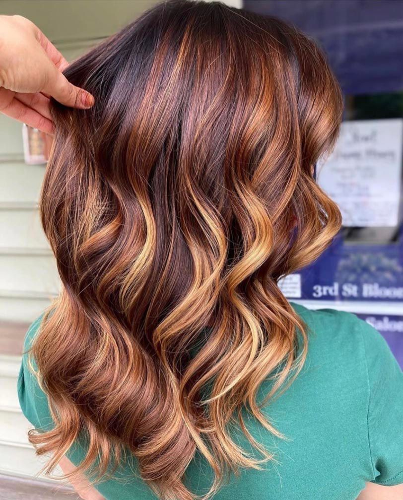15 Flattering Hair Colors That Prove Balayage Is Perfect For Fall Fall Hair Color Trends Hair Styles Fall Hair