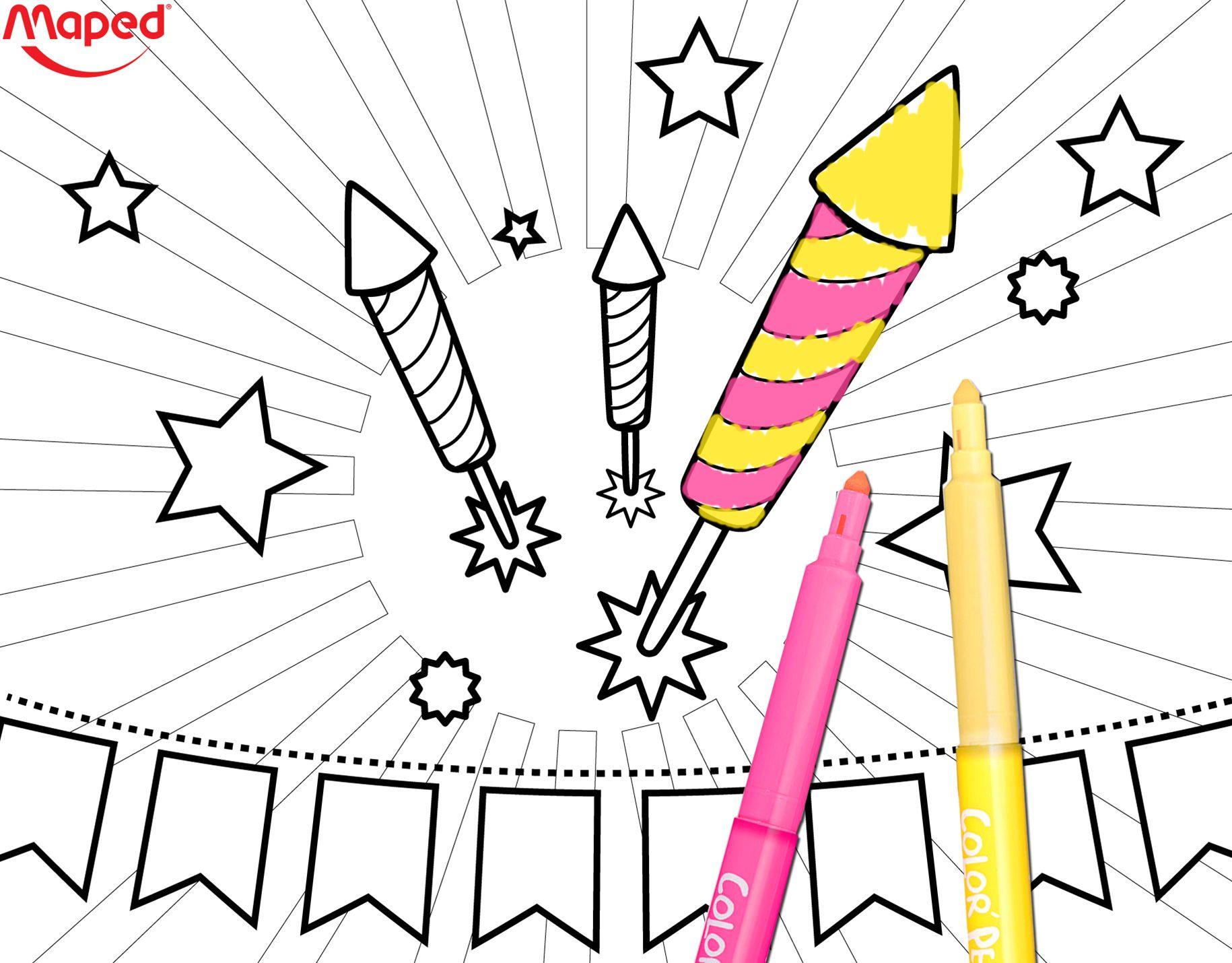 A venir t l charger sur le blog de maped 14 juillet maped mapedcreatives coloriage - Dessin a telecharger ...