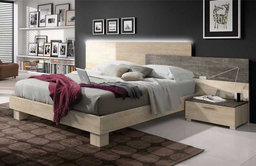 100  Bett Kiefer Massiv Gros Schlafzimmer  Massive - schlafzimmer kiefer massiv