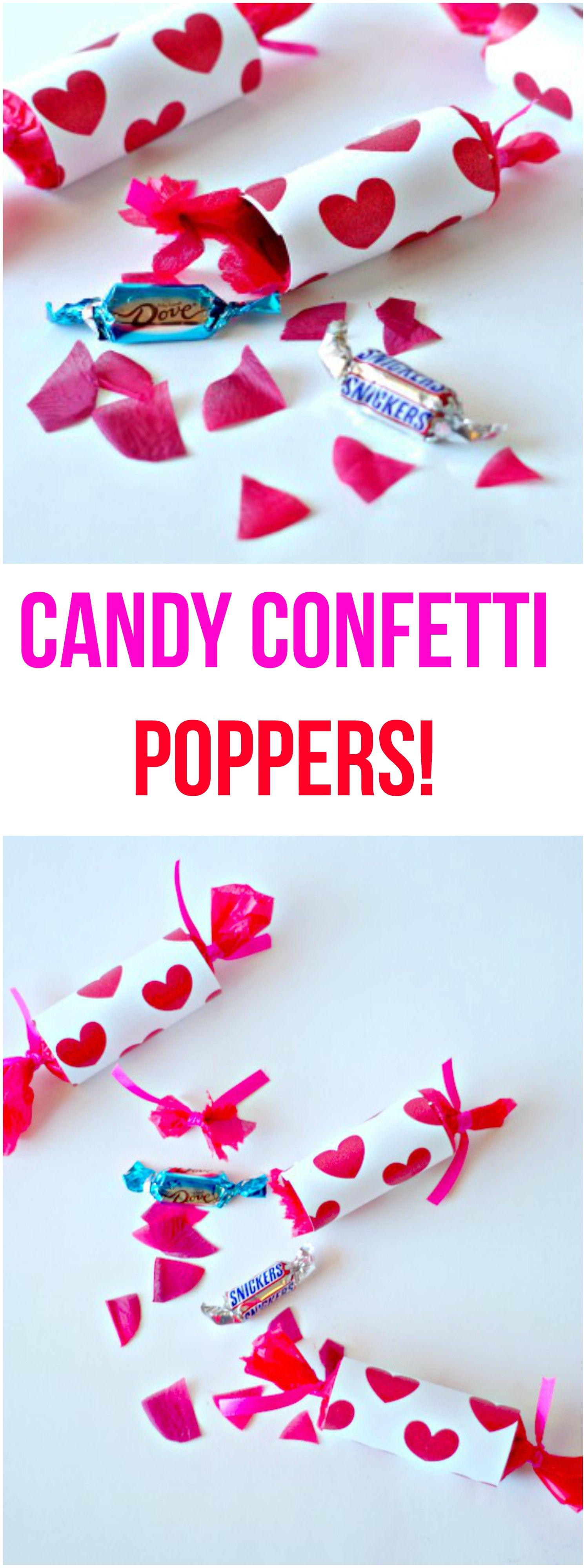 Candy Confetti Poppers