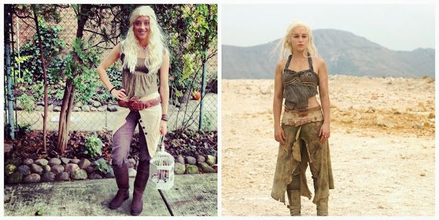 Khaleesi game of thrones costume clearly i love halloween do explore game of thrones costumes and more solutioingenieria Images